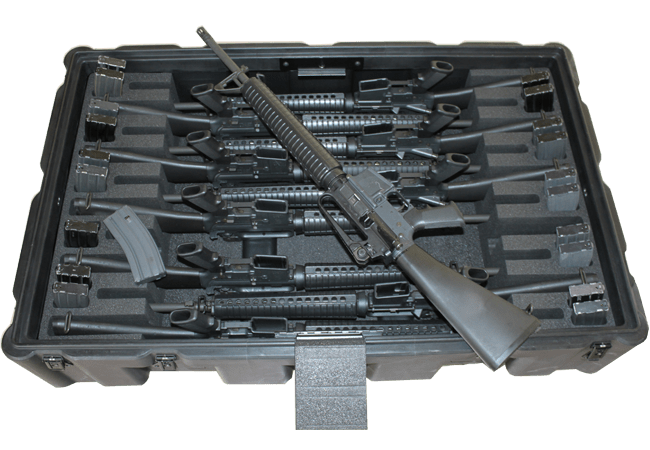 Rifle case (28)x450 Weapons Cases