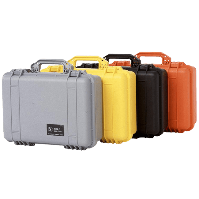 peli injection moulded cases