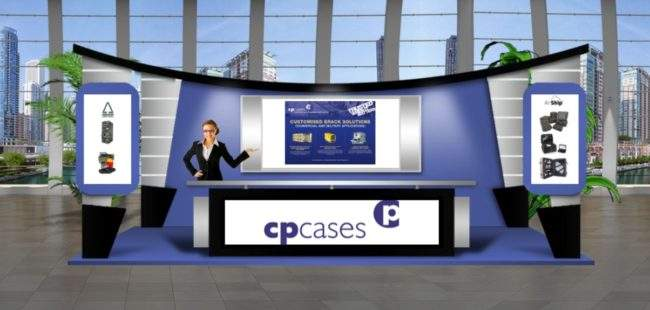 CP Cases DPRTE 2020 virtual experience booth image