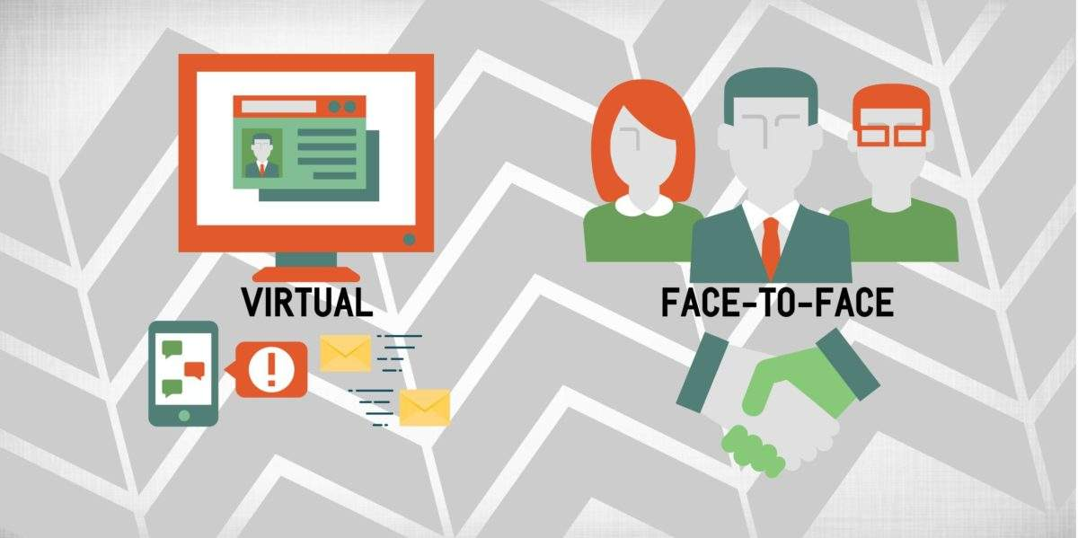 face-to-face exhibitions vs virtual experience - which do you prefer?
