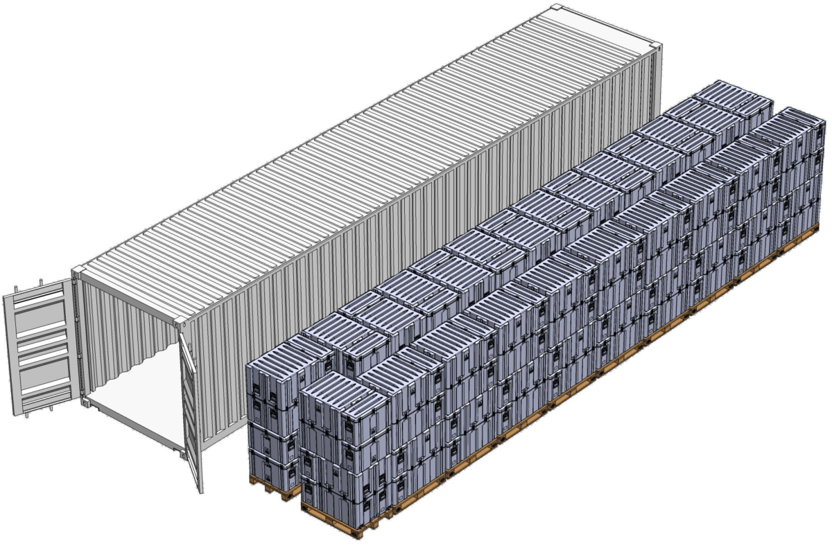ISO 40 foot Container - How to ship high value equipment: A complete guide
