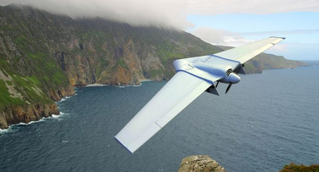 Unmanned Aerial Vehicle (UAV) with deployable transport case manta_overviewx1200