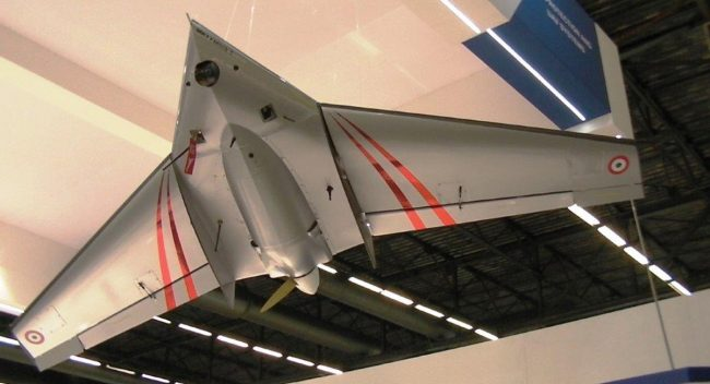 Unmanned Aerial Vehicle (UAV) with deployable transport case sany0047x1200