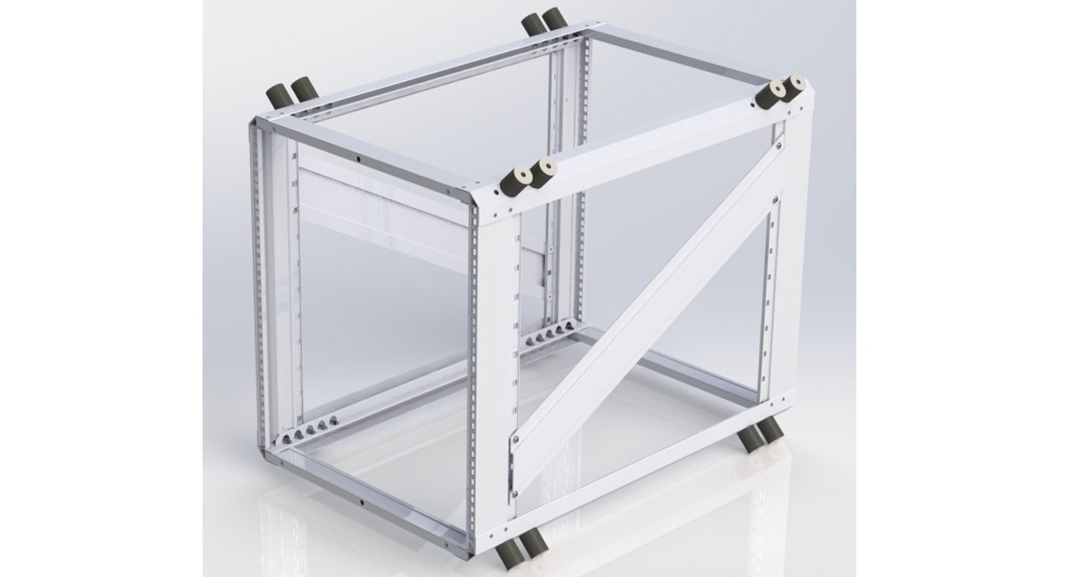 19 inch rackmount chassis CV2 Reenforced x1200