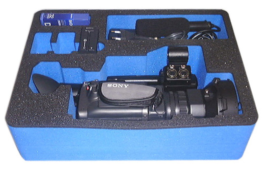 foam pack for Sony camera bag