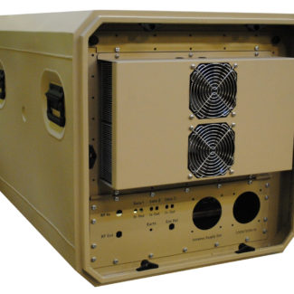 Air Conditioned 19 inch Rack Mount Transit Case - ERack