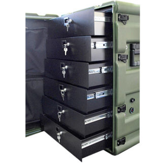 Amazon Case with Slide Out Drawers